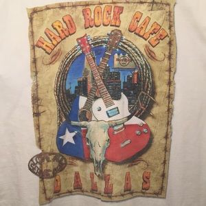 Vintage HardRock Cafe Dallas Tx XL Men's T-shirt